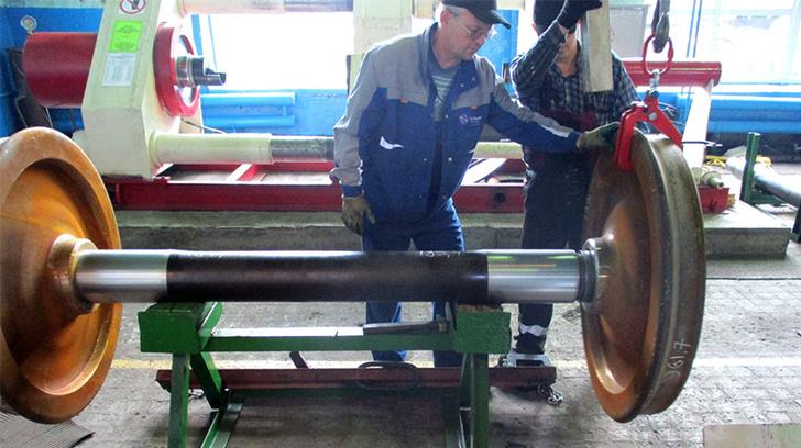 В Амурской области ООО «ВКМ Бурея» запустило вагонно-колесную мастерскую