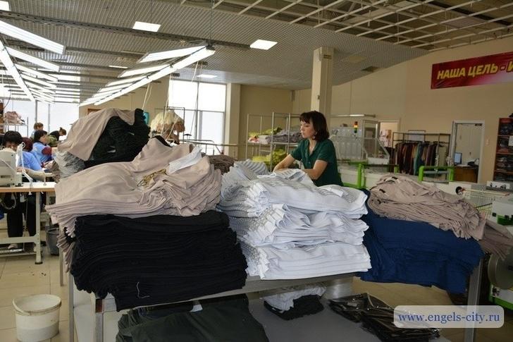 цех завода Пермский текстиль