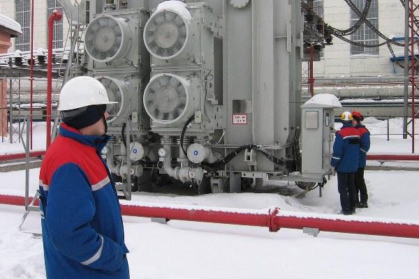 На Томь-Усинской ГРЭС введен в эксплуатацию новый блочный трансформатор 125 МВА