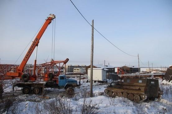 В Якутии установили очередную вышку для трансляции цифрового телевидения