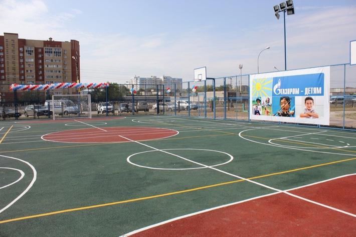 Спортивная площадка средней общеобразовательной школы № 73 г. Рязани