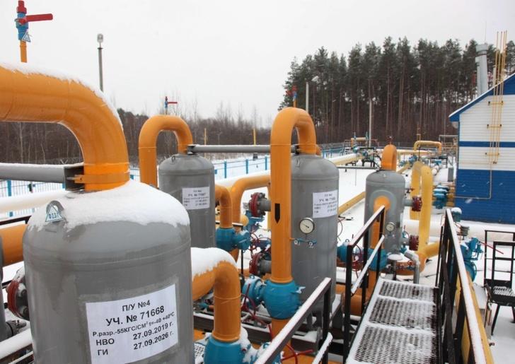 Газораспределительная станция «Приокское» ООО «Газпром трансгаз Нижний Новгород», на которой установлено изобретение автоматической подачи одоранта
