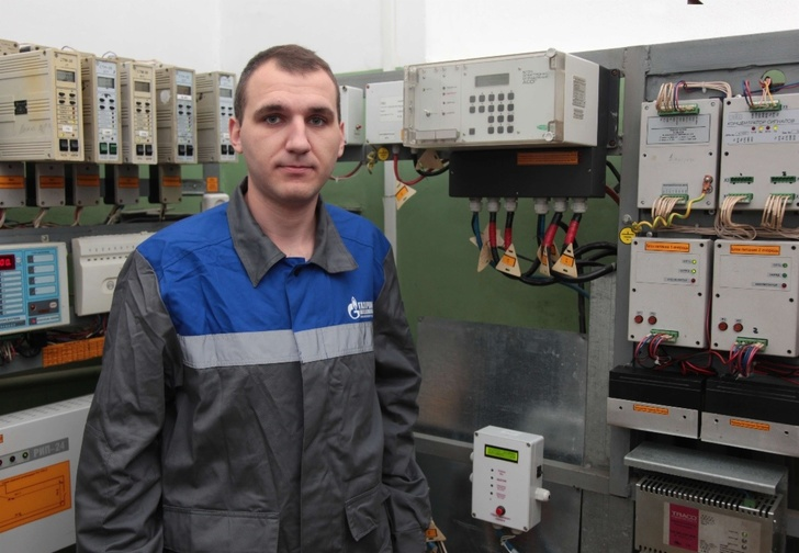 Один из авторов изобретения автоматической подачи одоранта, инженер по телемеханике Павел Данилин