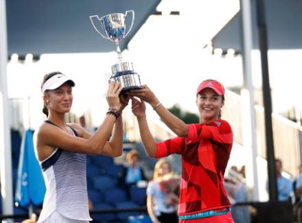 Australian Open. Калинская и Михаликова стали триумфаторами парного турнира среди девушек