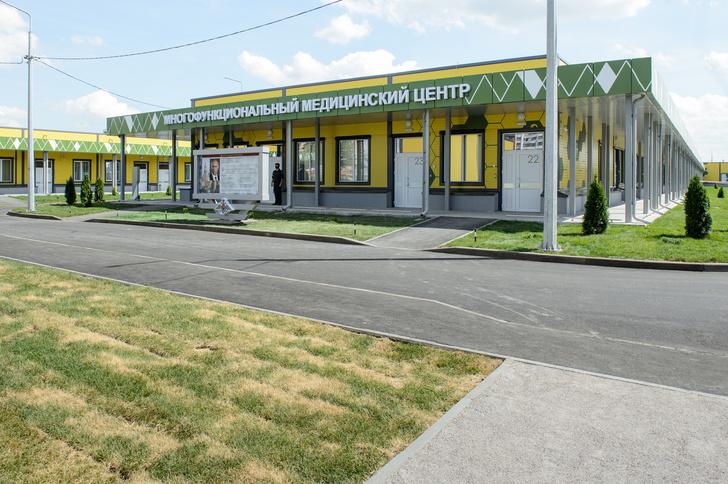 Завершено строительство Воронежского медицинского центра Минобороны