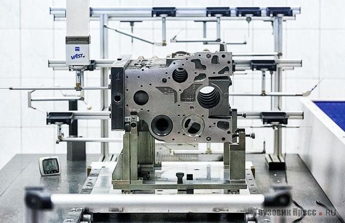 Контроль размеров игеометрии накоординатно-измерительной машине Carl Zeiss