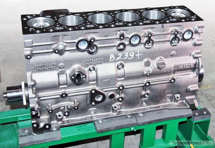 Двигатель Cummins ISL – шорт-блок позволит быстро восстановить двигатель без применения технологий расточки ишлифования