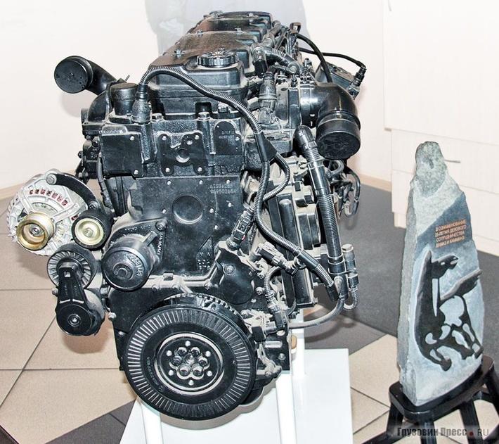Двигатель Cummins ISВ6.7 – первенец СП «КАММИНЗ КАМА», общий вид