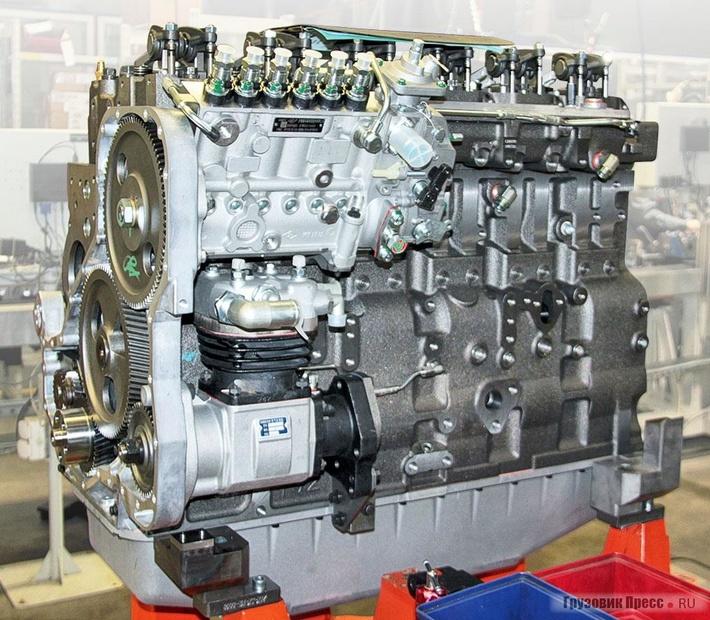Двигатель семейства Cummins серии «L» сТНВД для«Ростсельмаша»