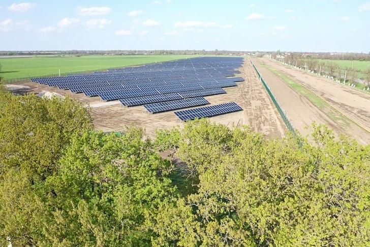 В Чеченской Республике состоялся пуск первой солнечной электростанции