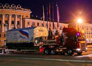 Транспортировка спутника Глонасс-М в Красноярске