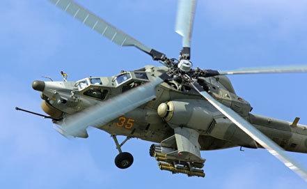 российский ударный вертолет Ми-28 фото ИТАР-ТАСС/ Марина Лысцева
