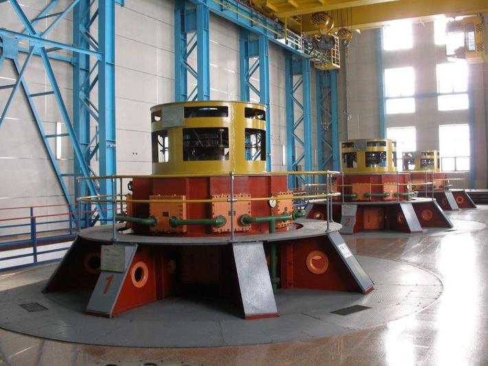 Машзал Аушигерской ГЭС