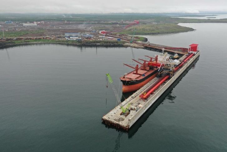 Первое судно в Китай: терминал АО «ВТУ» успешно провел испытания оборудования