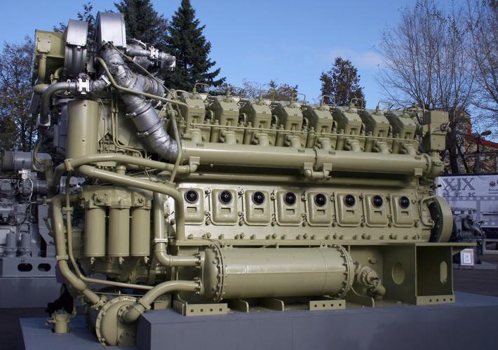 Коломенский завод отправил дизель-реверс-редукторный агрегат для 2-го корабля проекта 22160