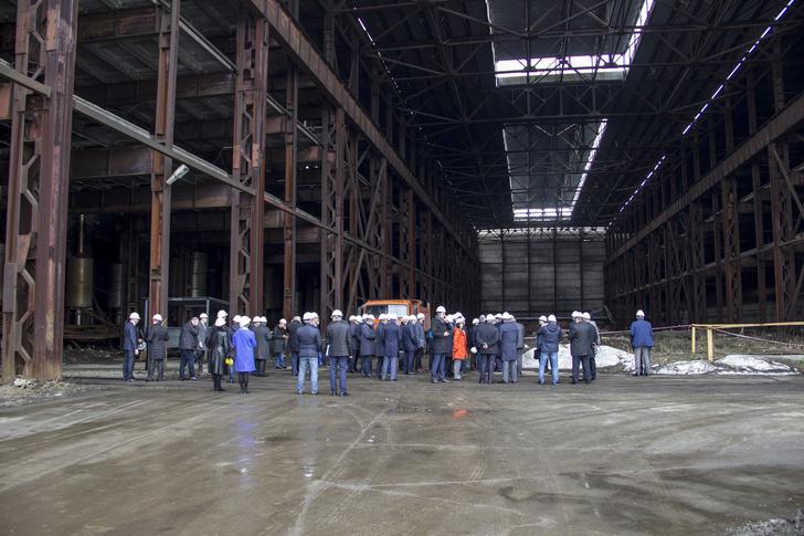 На Коломенском заводе начались строительные работы по выполнению плана технического развития