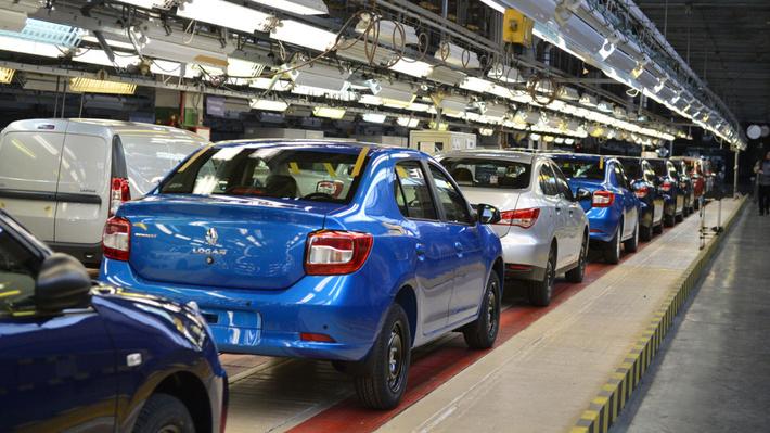 производство Renault Logan на АВТОВАЗе