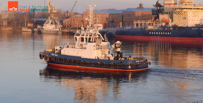 Морской буксир «МБ-134» вышел на испытания, 18 ноября 2014 года