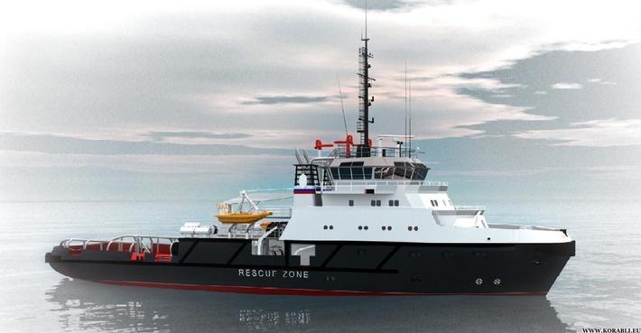 Аварийно-спасательное судно проекта 22870