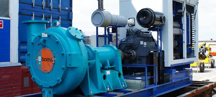 Дизель-насосная установка ПСМ для завода ЖБИ-2 в Калининграде