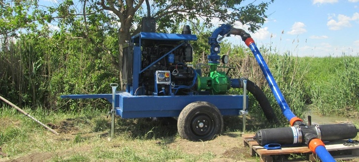 Дизель-насосные установки ПСМ завершили сельскохозяйственный сезон