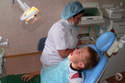 В Каменке появилась своя детская стоматологическая поликлиника