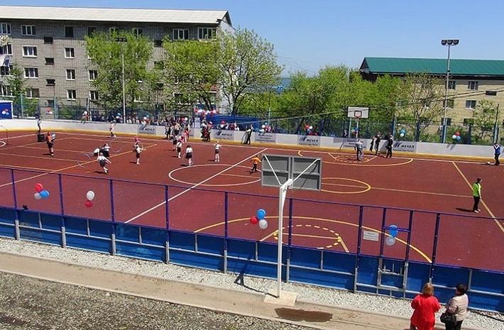 Еще одну универсальную площадку открыли в Приморье