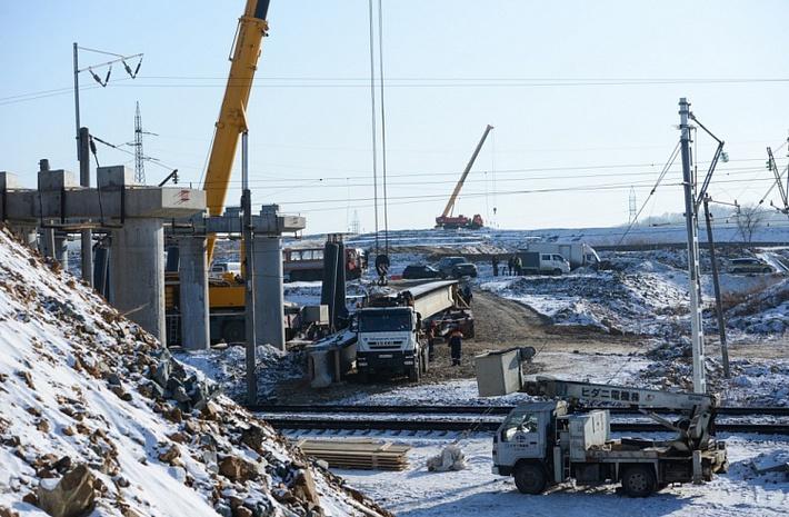 Строительство второго участка автодороги Владивосток-Порт Восточный начато в Приморье