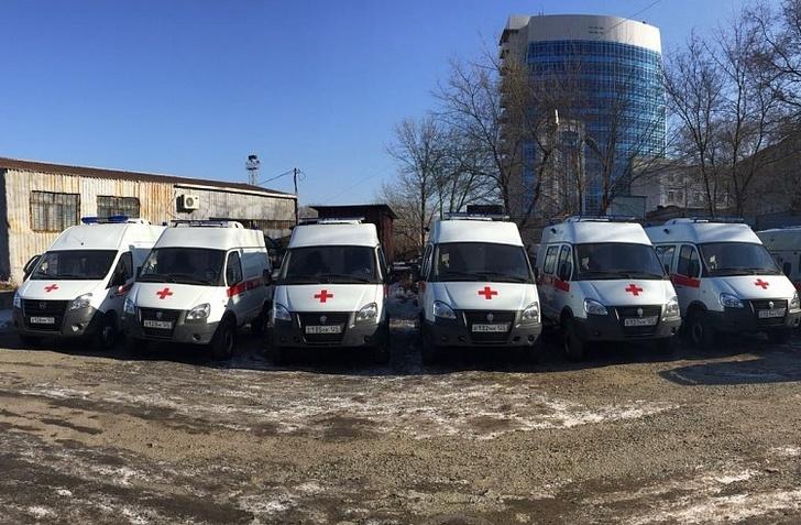 Новые автомашины скорой помощи готовятся к отправке в районы Приморья