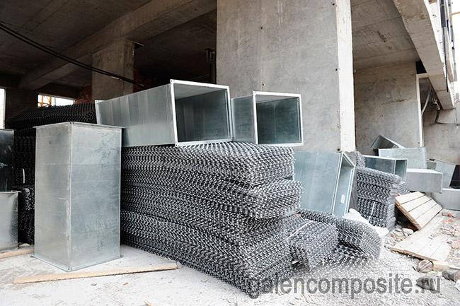 Композитная сетка Гален используется в строительстве нанодома