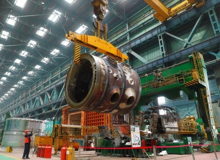 Атоммаш изготовил первый полукорпус реактора для АЭС Аккую