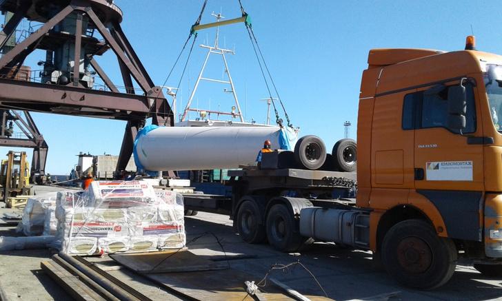 Ветроэнергетические установки доставлены в Тикси
