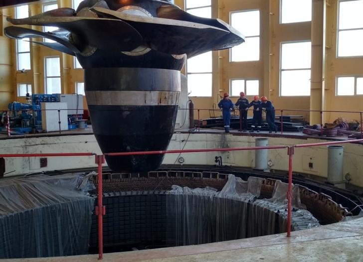 Завершена реконструкция гидротурбин Миатлинской ГЭС