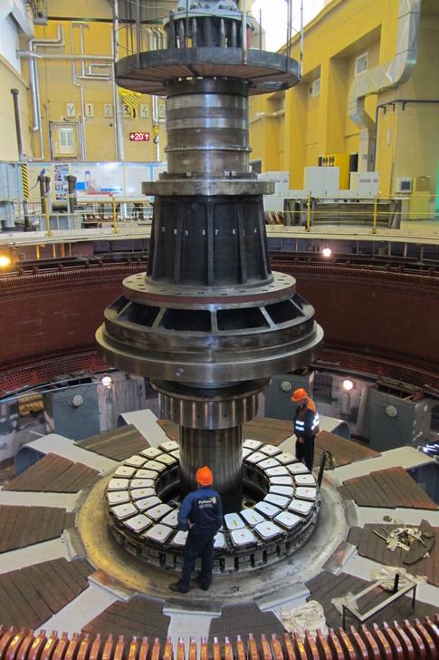 Мощность Новосибирской ГЭС выросла на 5 МВТ после замены гидротурбины