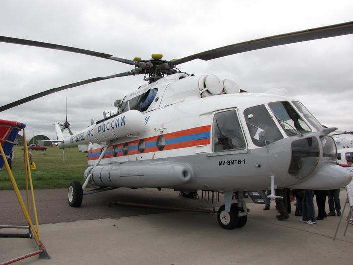 МЧС России закупило дополнительную партию из трех вертолетов Ми-8МТВ-1