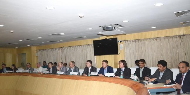 2016 год. Переговоры о реализации высокоскоростного железнодорожного коридора между Секундерабадом и Нагпуром