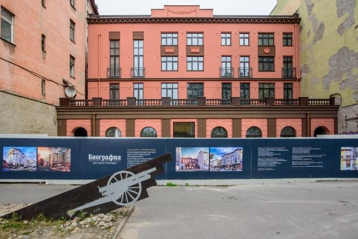 Группа RBI воссоздала фасад дореволюционного здания на Малой Разночинной