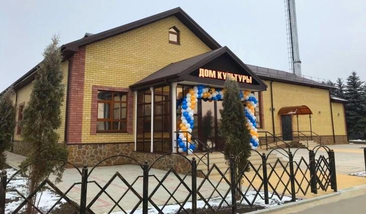 Современный Дом культуры, адаптированный для людей с ограниченными возможностями здоровья, открылся в ауле Псыж в Карачаево-Черкесии