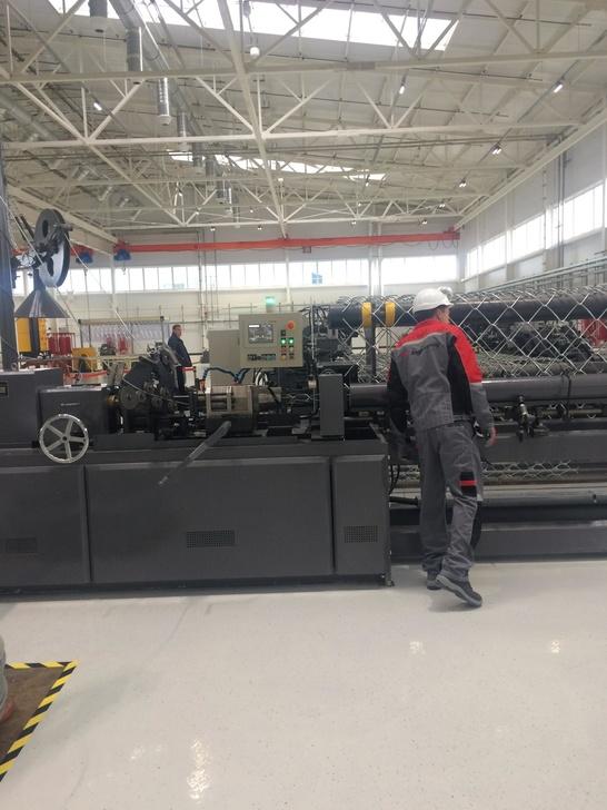 Завод по производству изделий из проволоки открыт в Санкт-Петербурге
