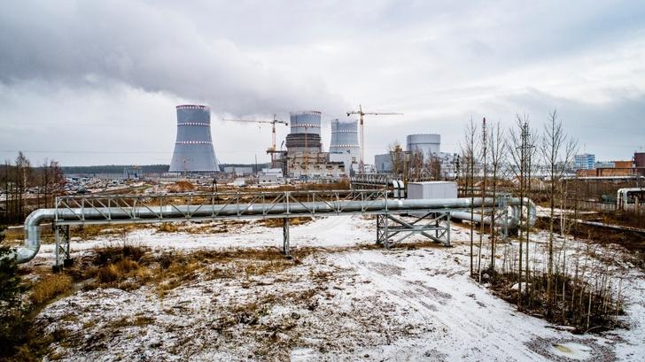 Новый энергоблок Ленинградской АЭС начал снабжать теплом Сосновый Бор