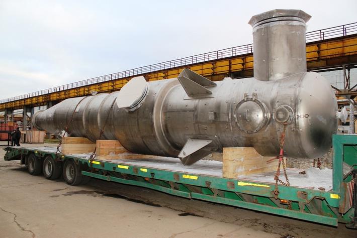 «СвердНИИхиммаш» отгрузил оборудование для строящегося в Калининградской области солезавода
