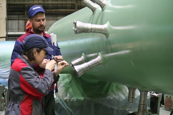 «Петрозаводскмаш» изготовил главный циркуляционный трубопровод для АЭС в Индии