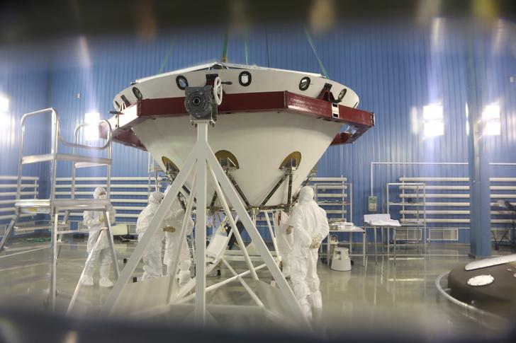 Отправлены составные части десантного модуля «ЭкзоМарса»