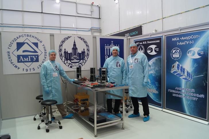 Спутники российских университетов выведены на орбиту