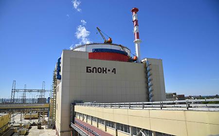 На Ростовской АЭС успешно прошли сдаточные испытания новейшего энергоблока № 4