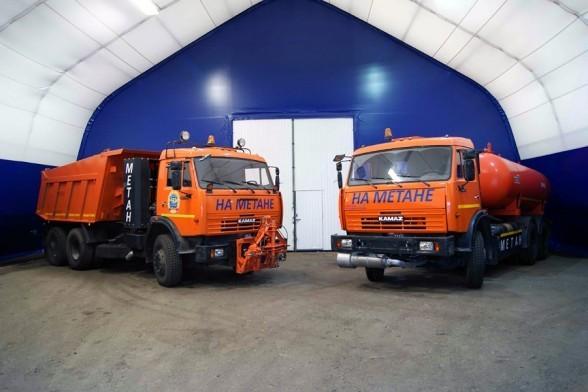 КАМАЗ принял участие в выставке «Газ на транспорте»