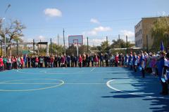 Спортивная площадка в Пролетарске