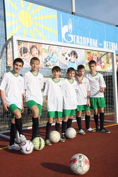 Спортивная площадка в селе Песчанокопское