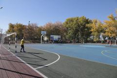 Спортивная площадка в станице Нижнекундрюченской