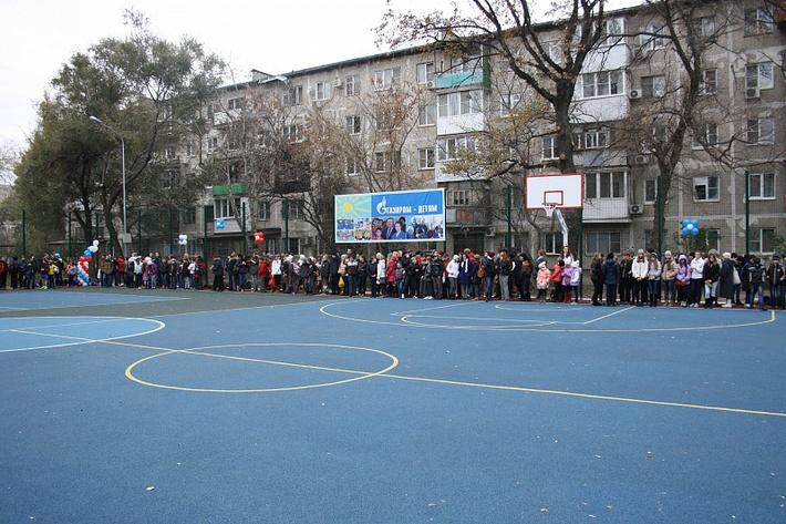 Площадка в Кировском районе Ростова-на-Дону